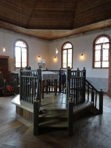 Ludzas sinagogas atklāšana