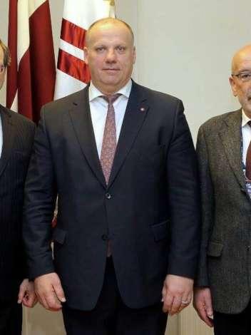 AJC Delegation Visits Latvia