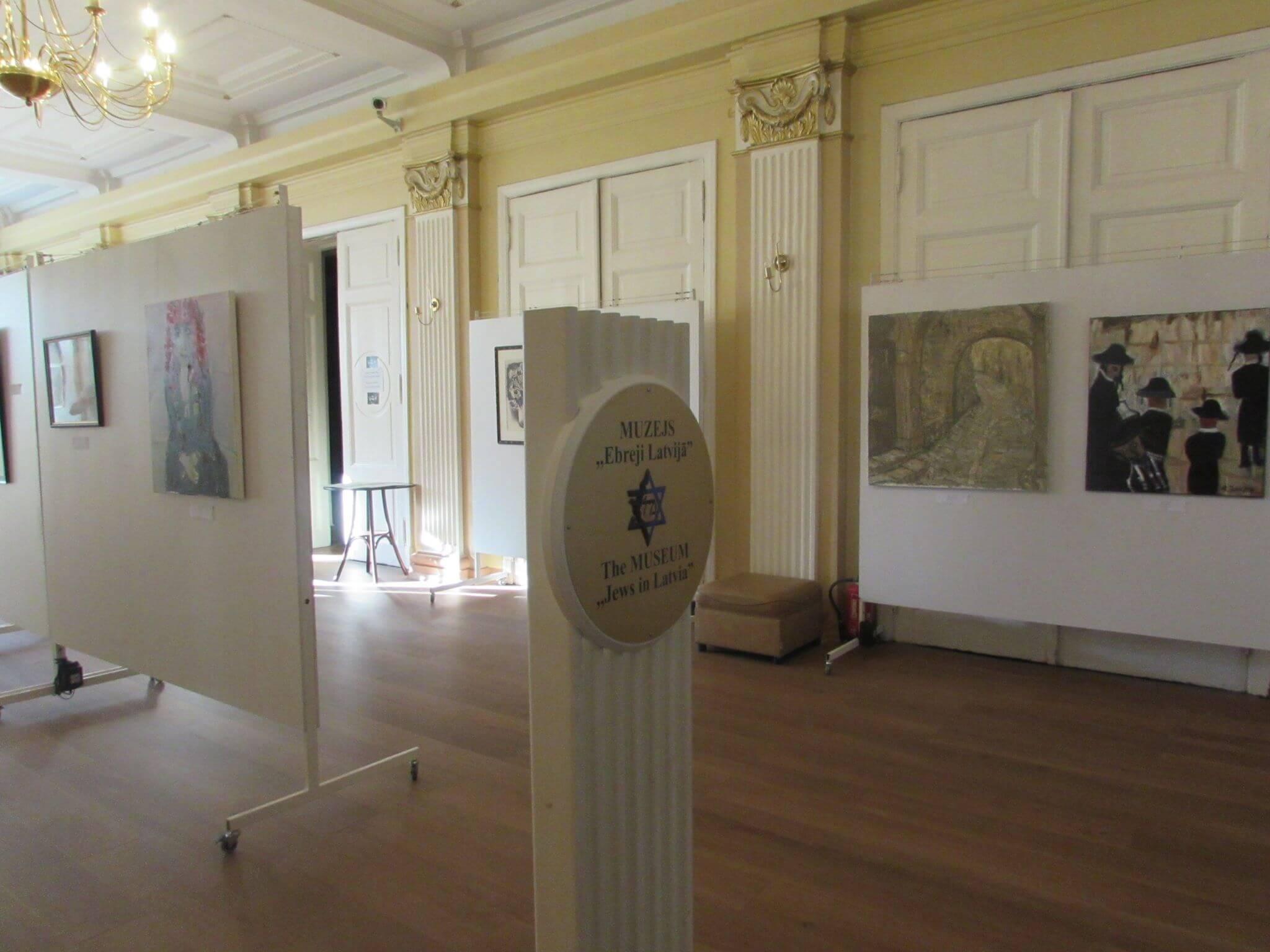 Thumbnail for: Выставка латвийских еврейских художников