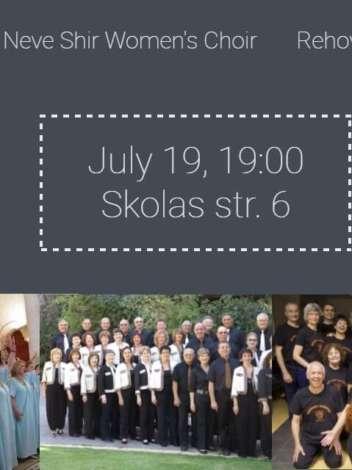 3 Israeli choirs at the Riga Jewish Community