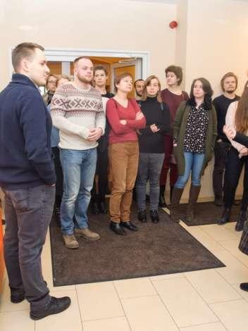 Фото: экскурсия по Рижской еврейской общине