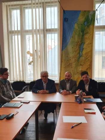 Встреча глав еврейских общин Латвии