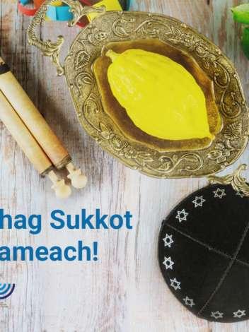 Chag Sukkot Sameach!
