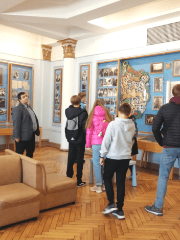 """Museum """"Jews in Latvia"""". Excursions for schools"""